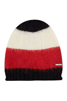 DIESEL Block colour beanie hat