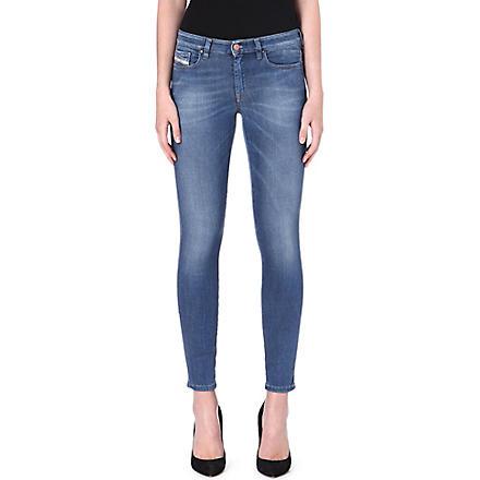 DIESEL Doris skinny mid-rise jeans (Blue