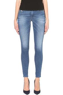 DIESEL Doris skinny-fit mid-rise jeans