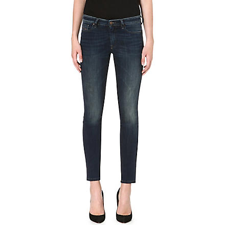 DIESEL Doris stretch-denim skinny jeans (Blue