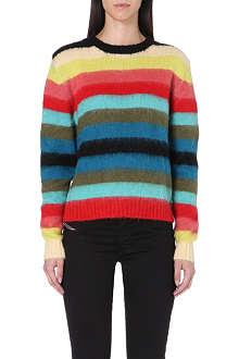 DIESEL M-carol stripe jumper