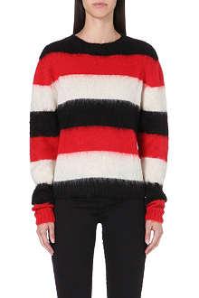DIESEL M-carol bold stripe jumper