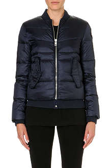 DIESEL Quilted bomber jacket