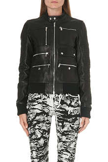 DIESEL Larty leather jacket