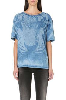 DIESEL Tlulad tiger-print t-shirt