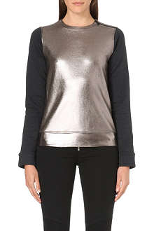 DIESEL Fierre metallic sweatshirt
