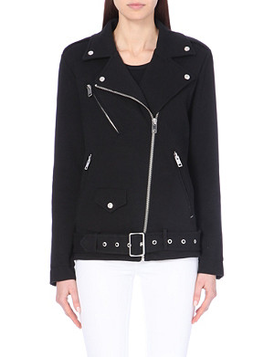 DIESEL Cotton biker jacket