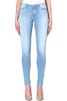 DIESEL Skinzee super-skinny mid-rise jeans