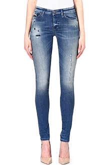 DIESEL Distressed skinzee jeans
