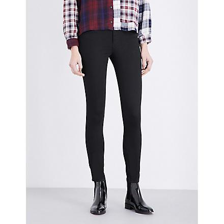 DIESEL Skinzee high-waist super-skinny jeans (Black