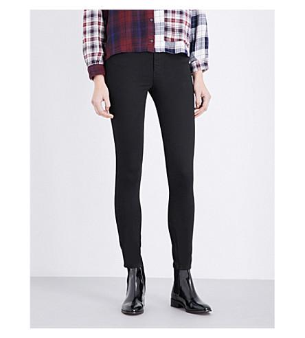 DIESEL Skinzee super-skinny high-rise jeans (Black