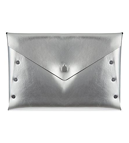 DIESEL Stormi clutch (Silver