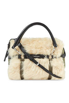 DIESEL Likke U S fur shoulder bag