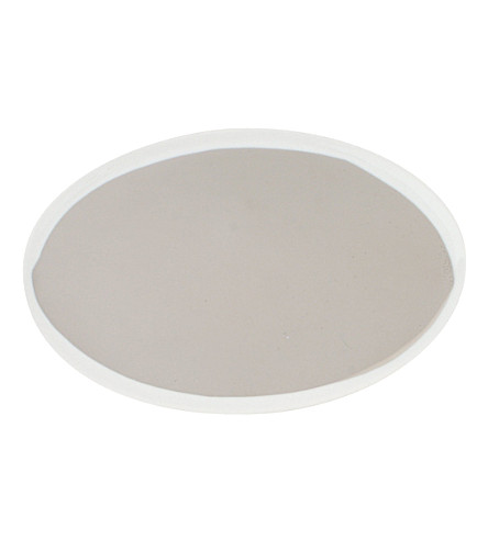 CANVAS HOME Dauville small oval platinum platter