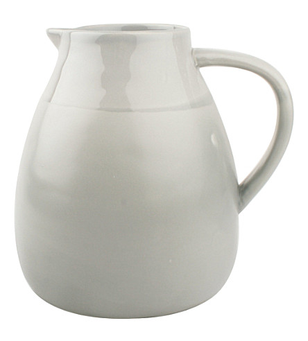 CANVAS HOME Seagate grey stoneware pitcher 2.4L