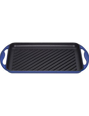 LE CREUSET Cast-iron rectangular grill