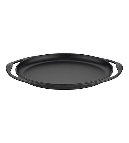 LE CREUSET Cast iron oval sizzle platter 31cm