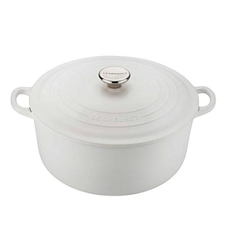 LE CREUSET Cast iron round casserole pot 24cm