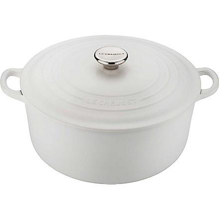 LE CREUSET Cast iron round casserole pot 28cm