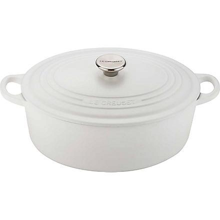 LE CREUSET Cast iron oval casserole pot 29cm
