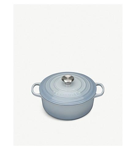 LE CREUSET Cast iron round casserole dish 20cm