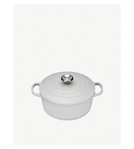 LE CREUSET 铸铁圆砂锅盘20厘米