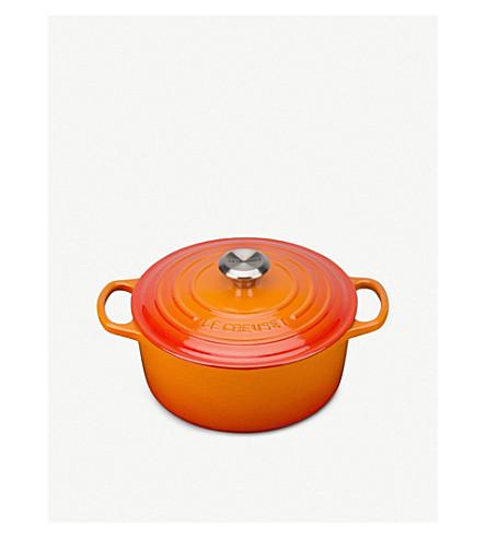 LE CREUSET 铸铁圆砂锅碟24厘米