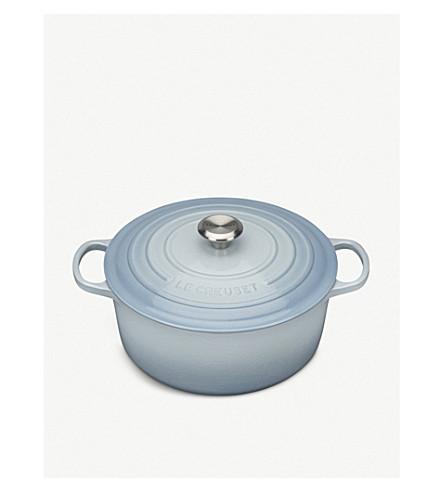 LE CREUSET Cast iron round casserole dish 28cm
