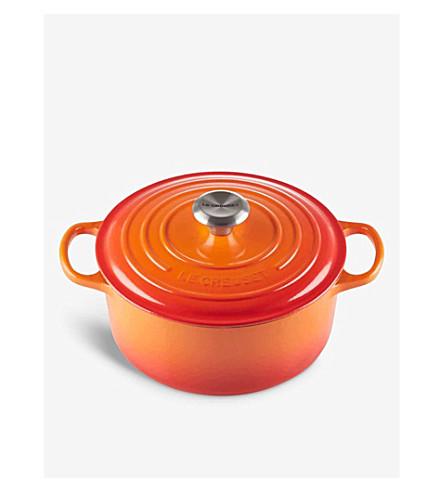 LE CREUSET Round casserole dish 30cm