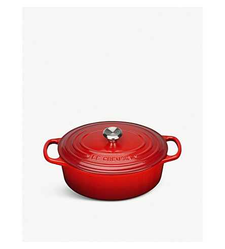 LE CREUSET 椭圆形砂锅盘25厘米
