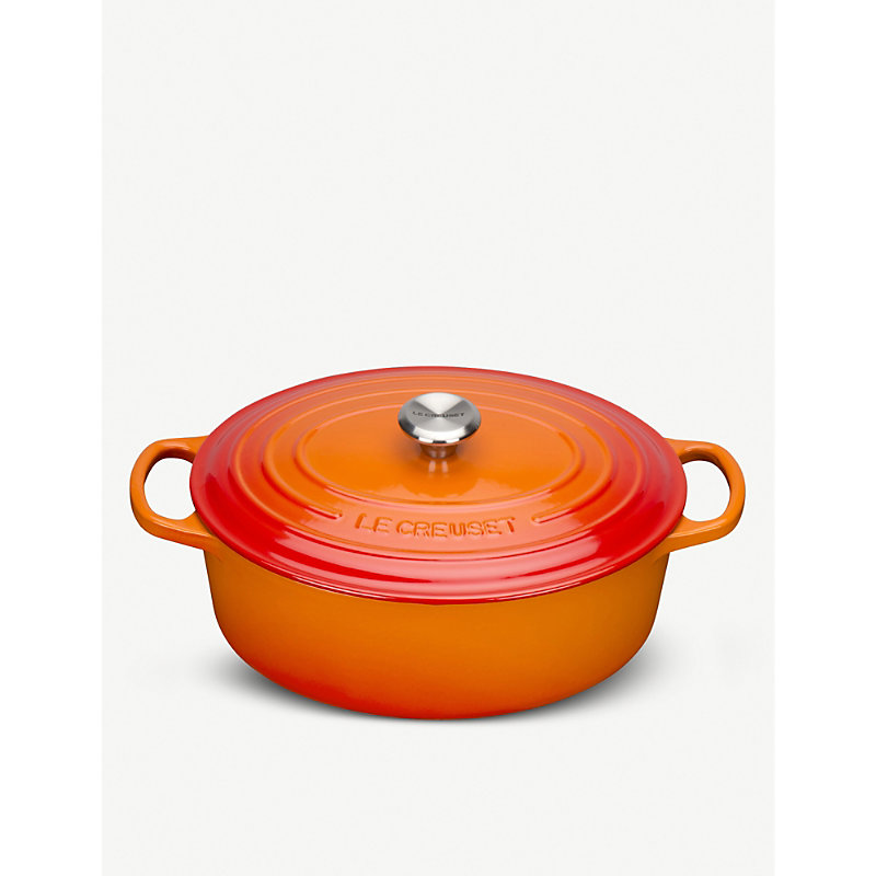 le creuset oval casserole dish 29cm octer. Black Bedroom Furniture Sets. Home Design Ideas