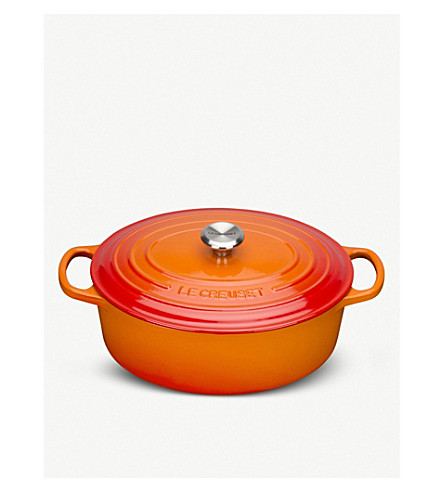 LE CREUSET 椭圆形砂锅盘29厘米