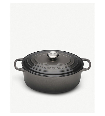 LE CREUSET Signature cast iron oval casserole dish 29cm
