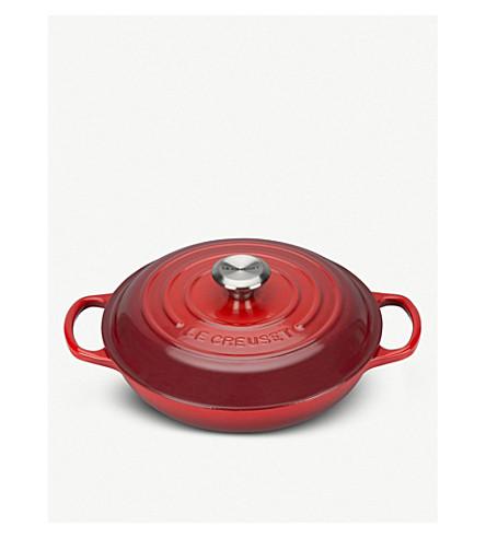 LE CREUSET Shallow casserole dish 26cm