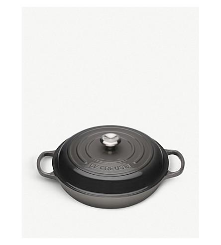 LE CREUSET Signature cast iron shallow casserole dish 26cm