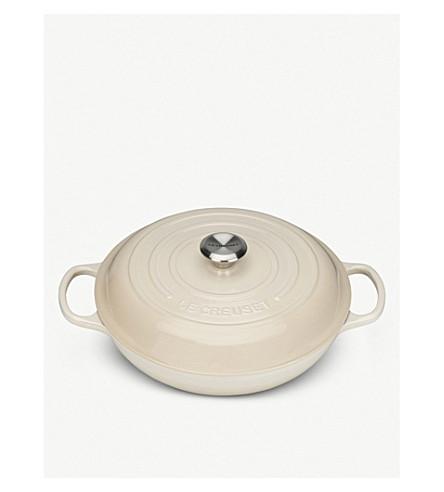 LE CREUSET Shallow casserole dish 30cm