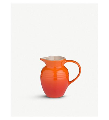 LE CREUSET Stoneware jug 0.6l (Volcanic