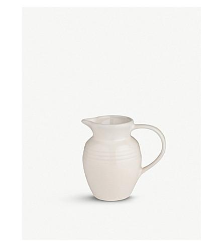LE CREUSET Stoneware jug 0.6l (Almond