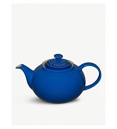 LE CREUSET 经典陶器茶壶 (马赛 + 蓝色