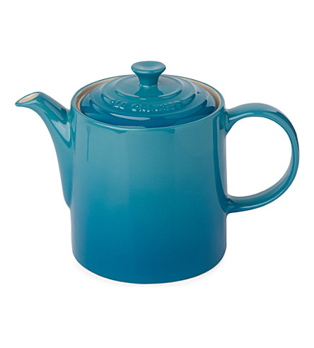 LE CREUSET Grand stoneware teapot (Teal