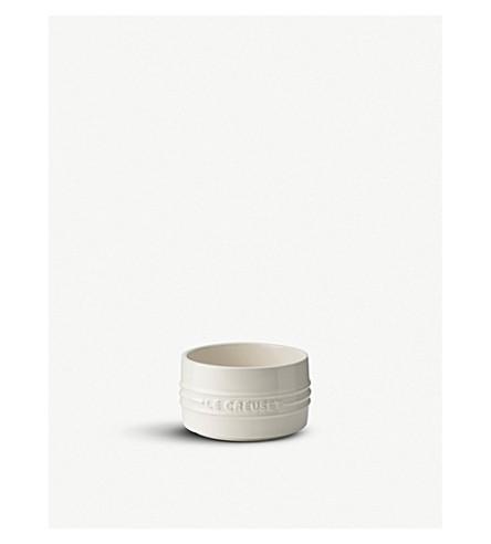 LE CREUSET Stackable stoneware ramekin (Almond