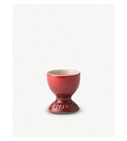 LE CREUSET Stoneware egg cup (Cerise