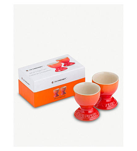 LE CREUSET Stoneware egg cups set of 2