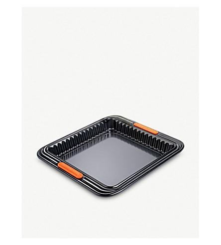 LE CREUSET Sqaure non-stick tart tin