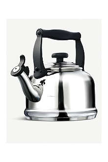 LE CREUSET Traditional stainless steel kettle