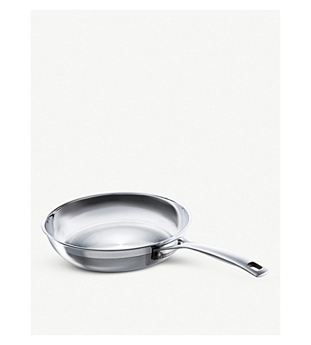 LE CREUSET 3-ply uncoated 24cm frying pan