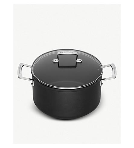 LE CREUSET Le Creuset toughened non-stick 20cm deep casserole