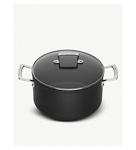 LE CREUSET Le Creuset toughened non-stick 28cm deep casserole