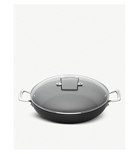 LE CREUSET Le Creuset toughened non-stick 26cm shallow casserole