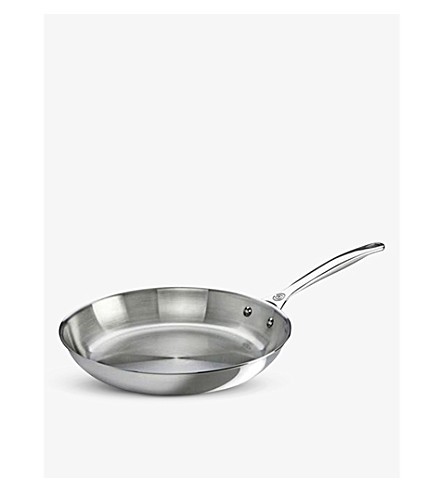 LE CREUSET Uncoated stainless steel frying pan 26cm